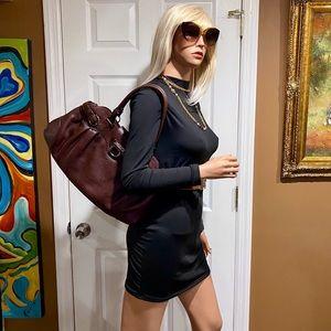 😻😻😻Authentic Salvatore Ferragamo Pebbled Leather Bag